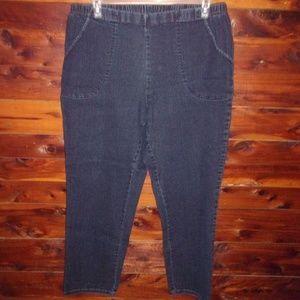 JMS Just My Size Stretch Skinny Jeans Plus Size 2X